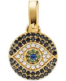 Evil eye jewelry shop for and buy evil eye jewelry online macys michael kors womens custom kors 14k gold plated sterling silver evil eye charm aloadofball Gallery