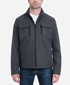 MICHAEL Michael Kors Men's Big & Tall Guilford Soft Shell Jacket, Created for Macy's