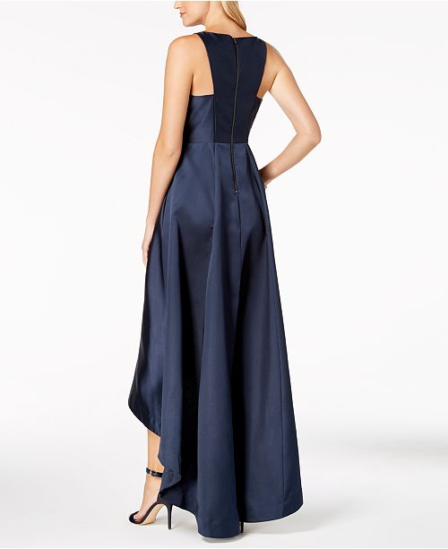 866d4926e2477 Adrianna Papell High-Low Mikado Gown   Reviews - Dresses - Women ...