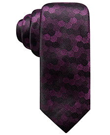 Alfani Men's Geometric Slim Silk Tie, Created for Macy's