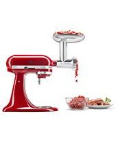 e7116b98a7d KitchenAid® KSMMGA Metal Food-Grinder Attachment