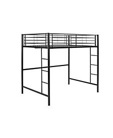 Premium Metal Full Size Loft Bed