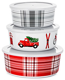 Martha Stewart Collection 3-Pc. Nesting Container Set, Create for Macy's