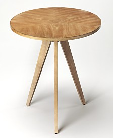 Compass End Table, Quick Ship