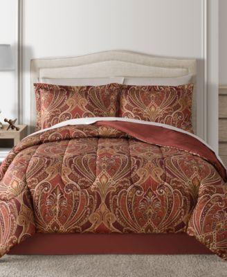 Claren Reversible 6-Pc. Twin Comforter Set