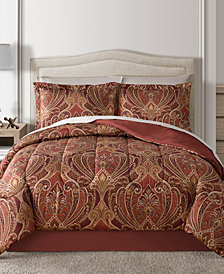 Fairfield Square Collection Claren Reversible 8-Pc. Queen Comforter Set