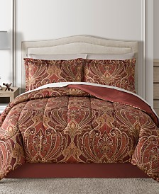 CLOSEOUT! Fairfield Square Collection Claren Reversible 8-Pc. Comforter Sets
