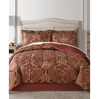 Various 8-Piece Reversible Comforter Sets (King/Queen/Full/Twin/Cal King)