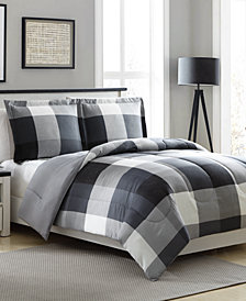 CLOSEOUT! Tanner Reversible 3-Pc. Comforter Sets