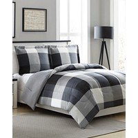 Ellison First Asia Tanner Reversible 2-Pc. Twin Comforter Set (Taupe/Grey)