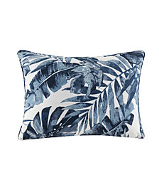 Madison Park Everett Printed Palm 3M Scotchgard Outdoor Pillow Collection