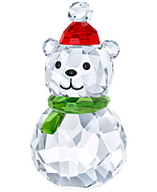 Swarovski Rocking Polar Bear Figurine
