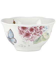 Butterfly Meadow Hydrangea Rice Bowl