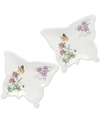 Butterfly Meadow Melamine Plate Set