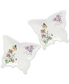 Lenox Butterfly Meadow Melamine Plate Set