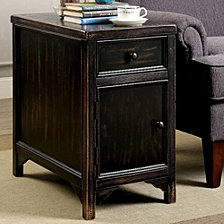 Transitional Style Side Table