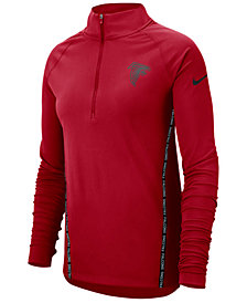 Nike Women's Atlanta Falcons Element Core Half-Zip Pullover