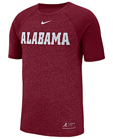 Nike Men's Alabama Crimson Tide Marled Raglan T-Shirt