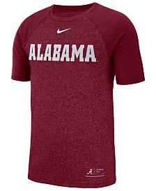 Nike Men's Alabama Crimson Tide Marled Raglan T-Shirt