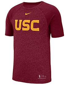 Nike Men's USC Trojans Marled Raglan T-Shirt