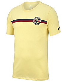 Nike Men's Club America Team Stripe Crest T-Shirt