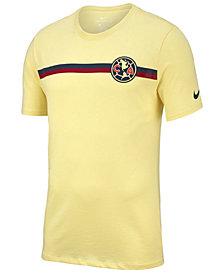 Nike Men's Club America Team Stripe Crest T-Shirt
