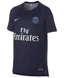 Nike Paris Saint-Germain Club Team Dry Squad T-Shirt GX 2, Big Boys (8-20)