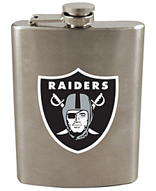 Memory Company Oakland Raiders 8oz Stainless Steel Flask