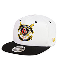New Era Baltimore Orioles Crest 9FIFTY Snapback Cap