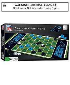 MasterPieces Carolina Panthers Checkers