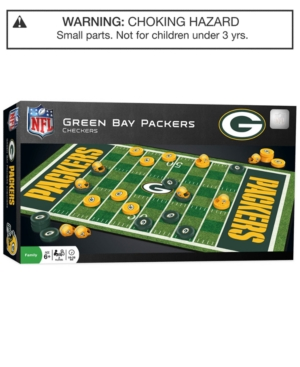 MasterPieces Puzzle Company Nfl Checkers - Green Bay Packers
