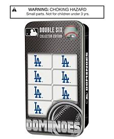 MasterPieces Los Angeles Dodgers Dominoes Set