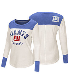 Touch by Alyssa Milano Women's New York Giants Thermal Long Sleeve T-Shirt