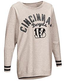 Touch by Alyssa Milano Women's Cincinnati Bengals Backfield Long Sleeve Top