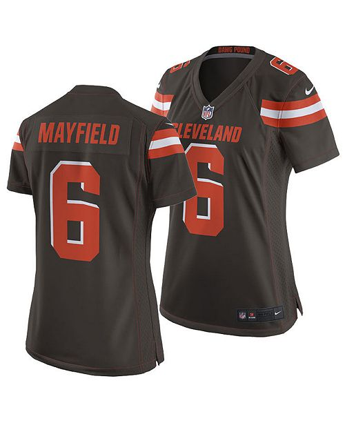 33a580ab21e Nike Women's Baker Mayfield Cleveland Browns Game Jersey & Reviews ...