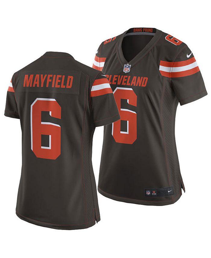 baker mayfield browns jersey