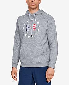 Under Armour Men's Fleece Americana Logo Hoodie