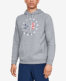 Under Armour Men's Fleece Americana Logo Hoodie