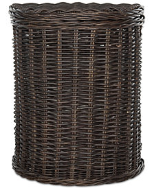 Manzu Wicker Hamper, Quick Ship
