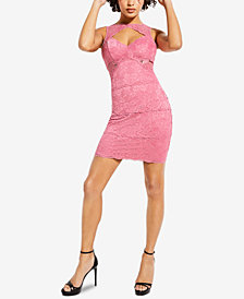 GUESS Silvana Lace Mini Dress