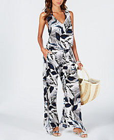 La Blanca Moment Of Zen Printed Jumpsuit Cover-Up