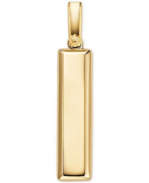 Michael Kors Women's Custom Kors Sterling Silver Plaque Charm