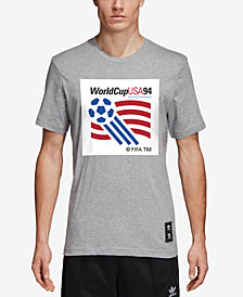 adidas Men's Originals 94 Logo Graphic Soccer T-Shirt
