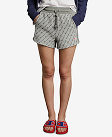Champion Reverse-Weave High-Waist Shorts