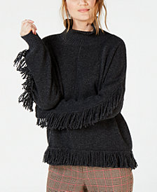 Weekend Max Mara Fringed Turtleneck Sweater