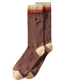 Bar III Men's Embroidered Pine-Cone Socks, Created for Macy's