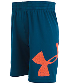 Under Armour Little Boys Mesh Logo Striker Shorts