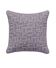 """Quilted 18"""" Square Decorative Pillow"""