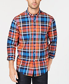Club Room Men's Dexter Plaid Shirt, Created for Macy's