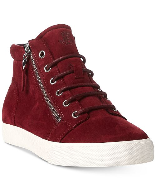 c0c0820c1b251 Lauren Ralph Lauren Reace Lace-Up High-Top Fashion Sneakers ...